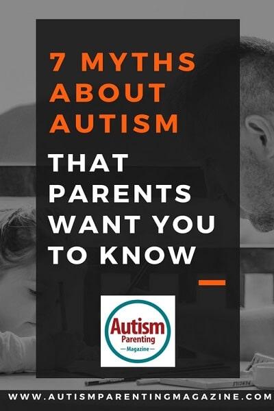 7 Myths About Autism That Parents Want You to Know http://www.autismparentingmagazine.com/7-parent-myths-about-autism/