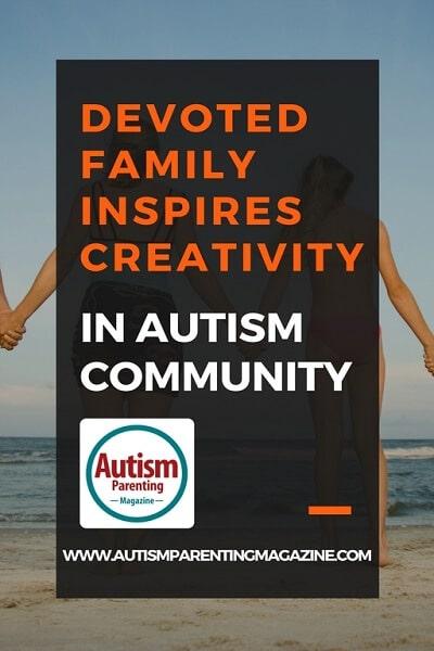 Devoted Family Inspires Creativity in Autism Community https://www.autismparentingmagazine.com/devoted-family-inspires-creativity-in-autism-community