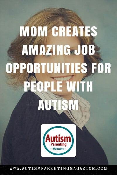 Mom Creates Amazing Job Opportunities for People with Autism http://www.autismparentingmagazine.com/mom-creates-amazing-job-opportunities-for-people-autism
