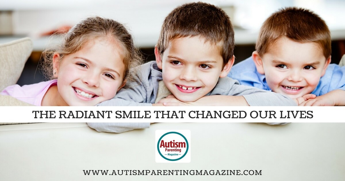 The Radiant Smile That Changed Our Lives http://www.autismparentingmagazine.com/autism-radiant-smile-changed-our-lives/