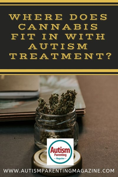Where Does Cannabis Fit In With Autism Treatment? https://www.autismparentingmagazine.com/cannabis-fit-with-autism-treatment/