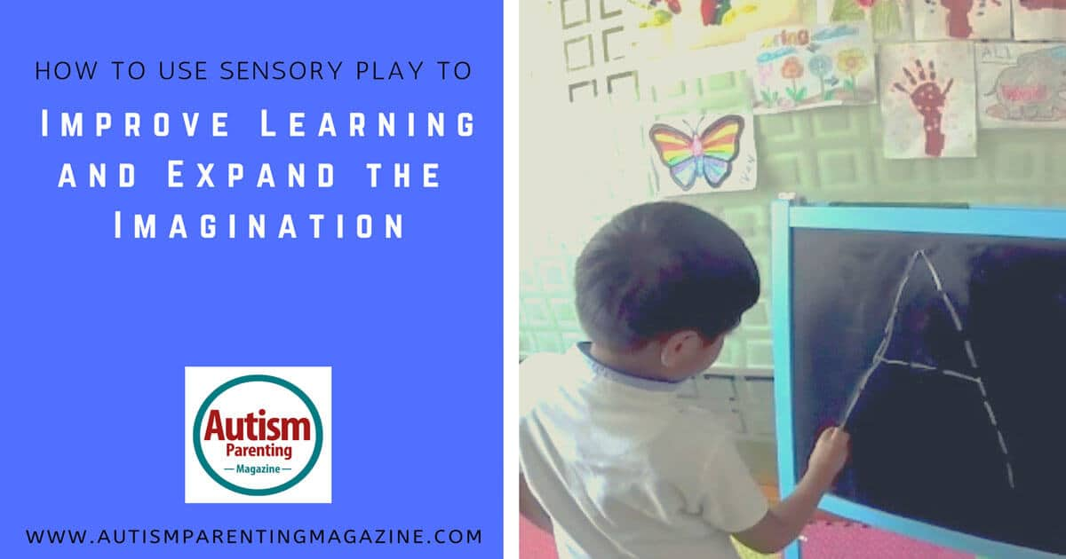 How to Use Sensory Play to Improve Learning and Expand the Imagination https://www.autismparentingmagazine.com/improve-learning-and-expand-imagination/