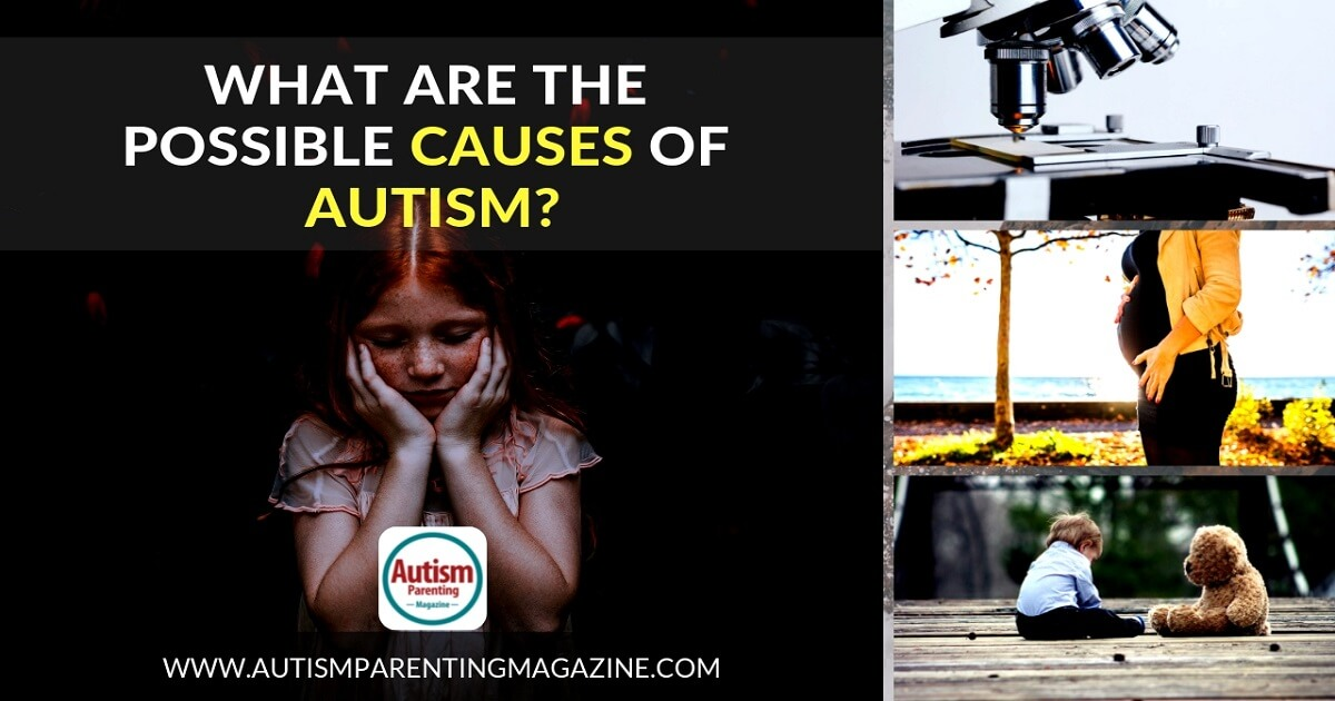 What Are the Possible Causes of Autism? https://www.autismparentingmagazine.com/what-are-the-possible-causes-of-autism