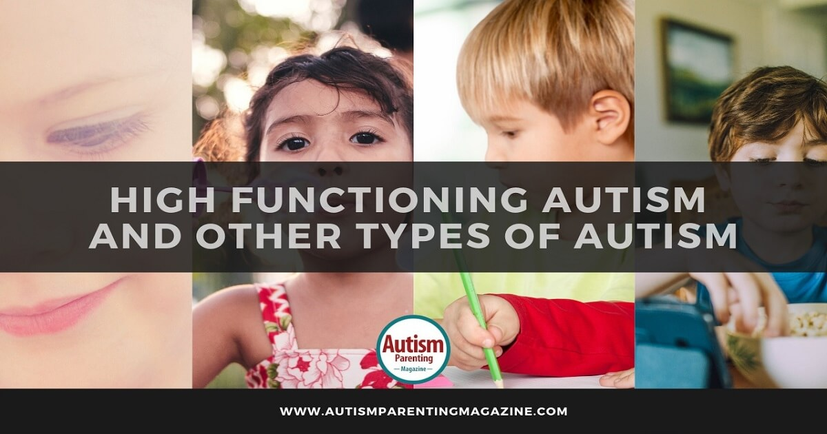 High Functioning Autism and Other Types of Autism https://www.autismparentingmagazine.com/high-functioning-autism-other-types-of-autism