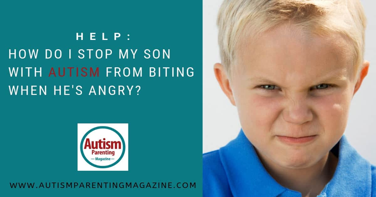 HELP: How Do I Stop My Son With Autism From Biting When He's Angry? https://www.autismparentingmagazine.com/autism-son-biting-when-angry/