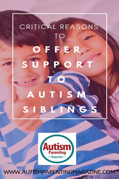 Critical Reasons to Offer Support to Autism Siblings https://www.autismparentingmagazine.com/critical-reasons-offer-support-autism/