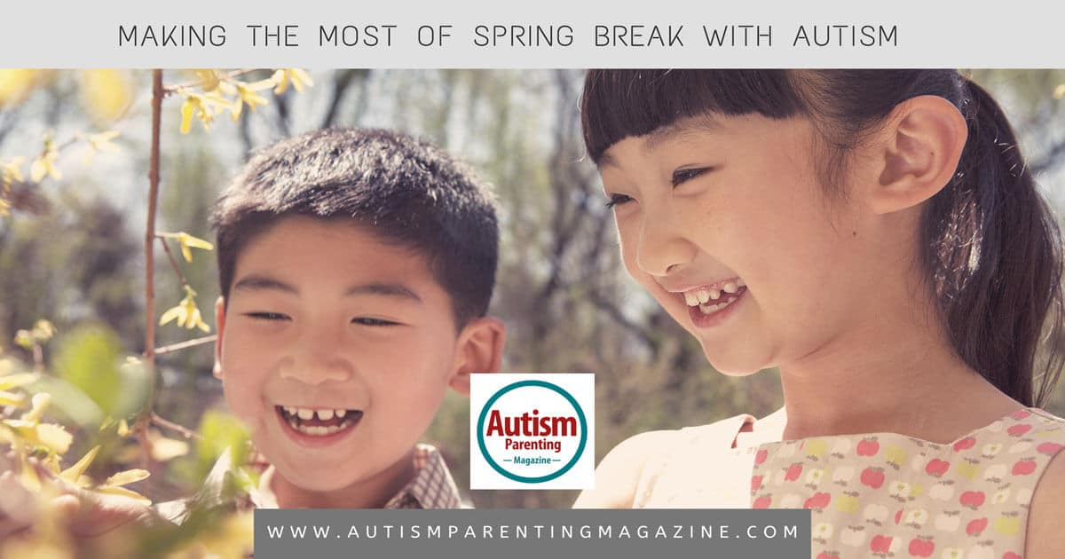 Making the Most of Spring Break With Autism https://www.autismparentingmagazine.com/making-spring-break-with-autism/