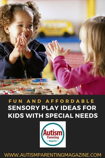 Fun and Affordable Sensory Play Ideas for Kids With Special Needs https://www.autismparentingmagazine.com/special-needs-sensory-play-ideas/