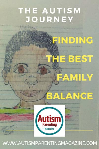 The Autism Journey - Finding the Best Family Balance https://www.autismparentingmagazine.com/autism-journey-finding-family-balance/