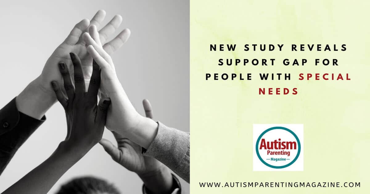 New Study Reveals Support Gap For People With Special Needs https://www.autismparentingmagazine.com/study-support-people-special-needs/