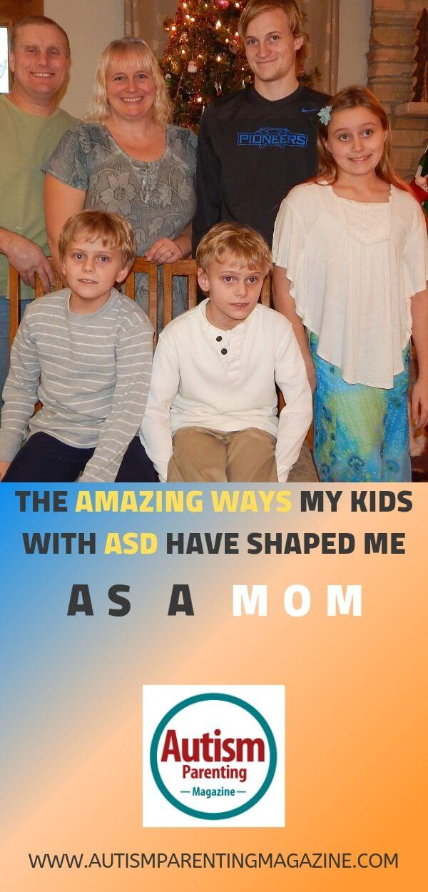 The Amazing Ways My Kids With ASD Have Shaped Me As a Mom https://www.autismparentingmagazine.com/amazing-ways-kids-asd-mom/