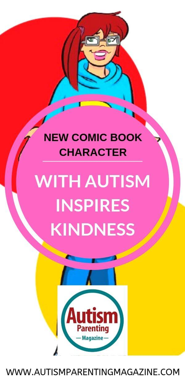 New Comic Book Character With Autism Inspires Kindness https://www.autismparentingmagazine.com/comic-character-autism-inspires-kindness/