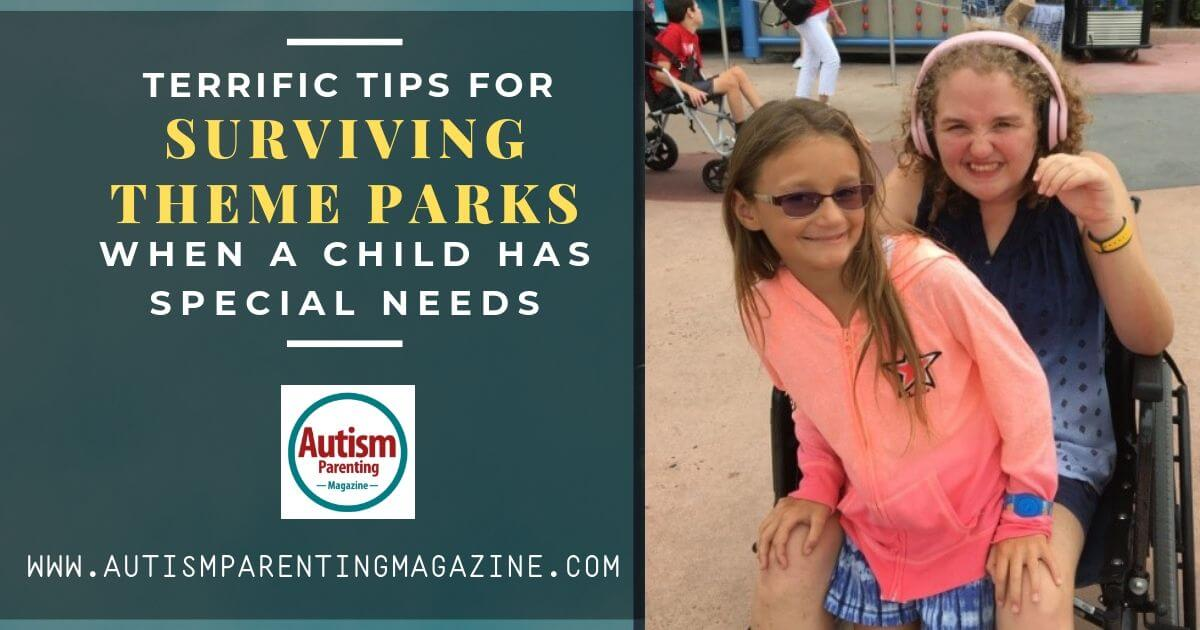 Terrific Tips for Surviving Theme Parks When a Child Has Special Needs https://www.autismparentingmagazine.com/tips-parks-child-special-needs/