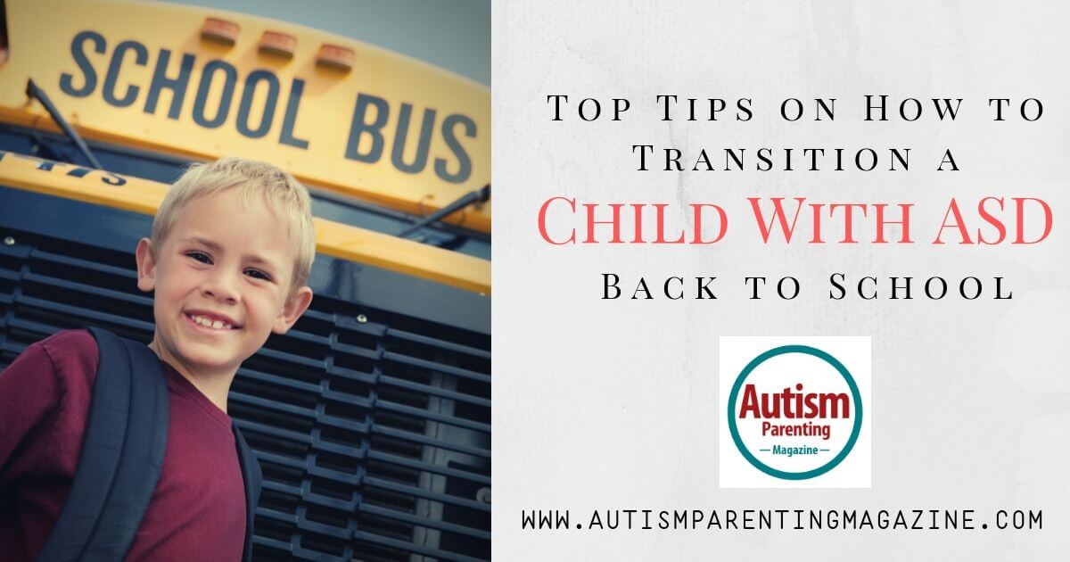Top Tips on How to Transition a Child With ASD Back to School https://www.autismparentingmagazine.com/child-with-asd-back-to-school/