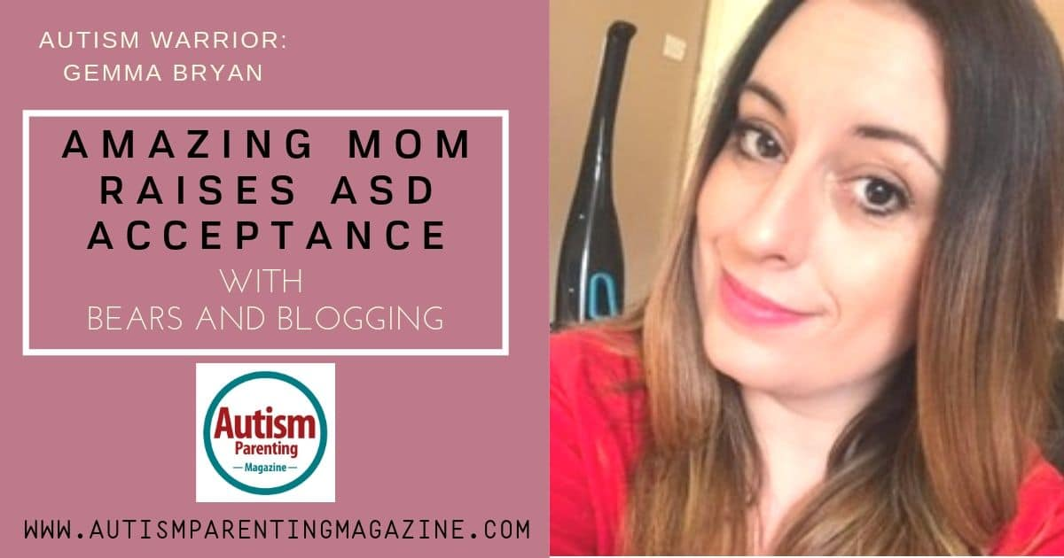 Amazing Mom Raises ASD Acceptance With Bears and Blogging https://www.autismparentingmagazine.com/amazing-mom-raises-asd-acceptance/