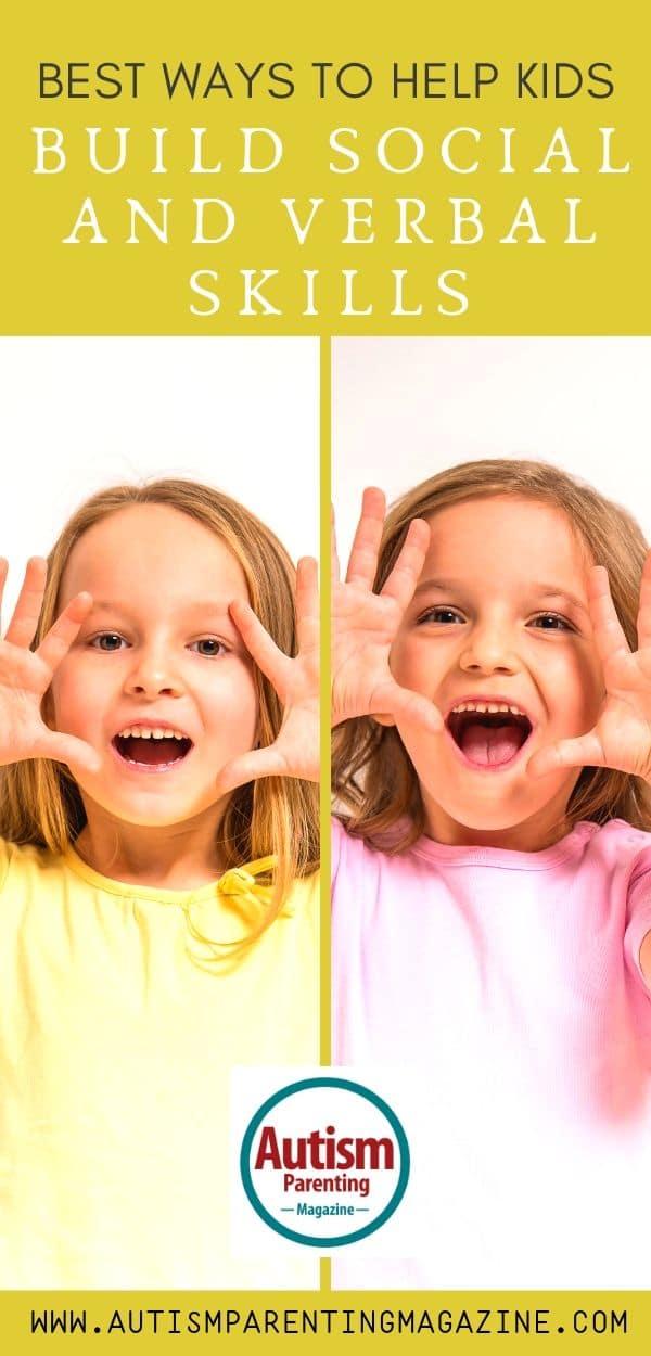Best Ways to Help Kids Build Social and Verbal Skills https://www.autismparentingmagazine.com/build-social-and-verbal-skills/
