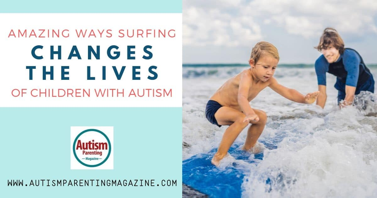 Amazing Ways Surfing Changes the Lives of Children With Autism https://www.autismparentingmagazine.com/amazing-ways-surfing-changes-autism/