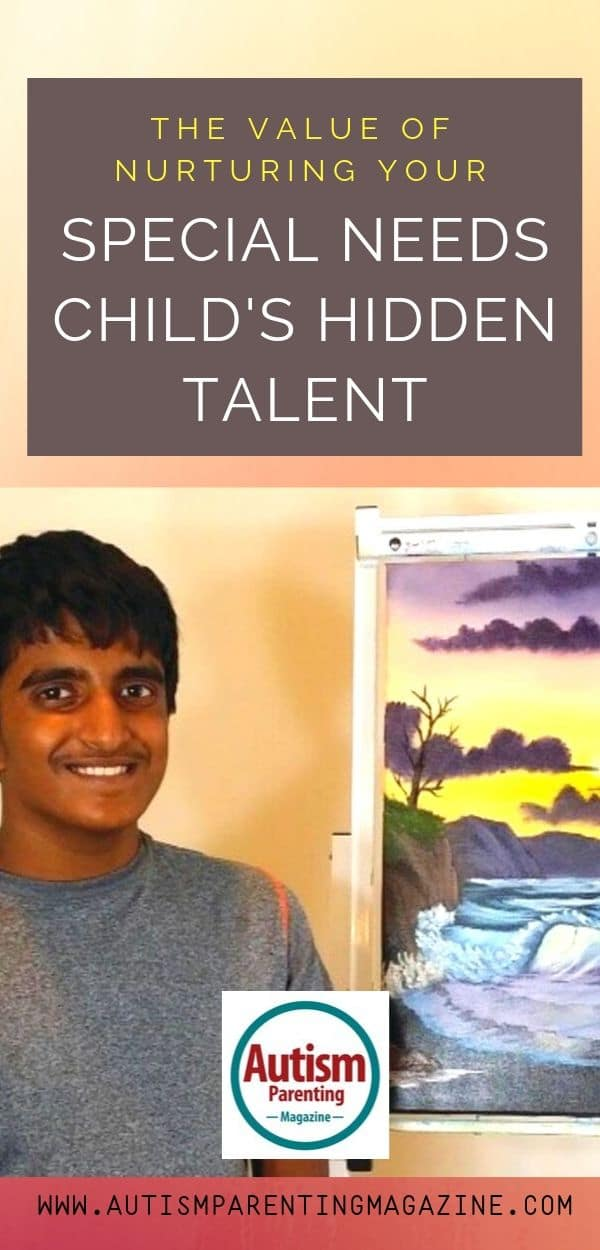 The Value of Nurturing Your Special Needs Child's Hidden Talent https://www.autismparentingmagazine.com/special-need-child-hidden-talent/
