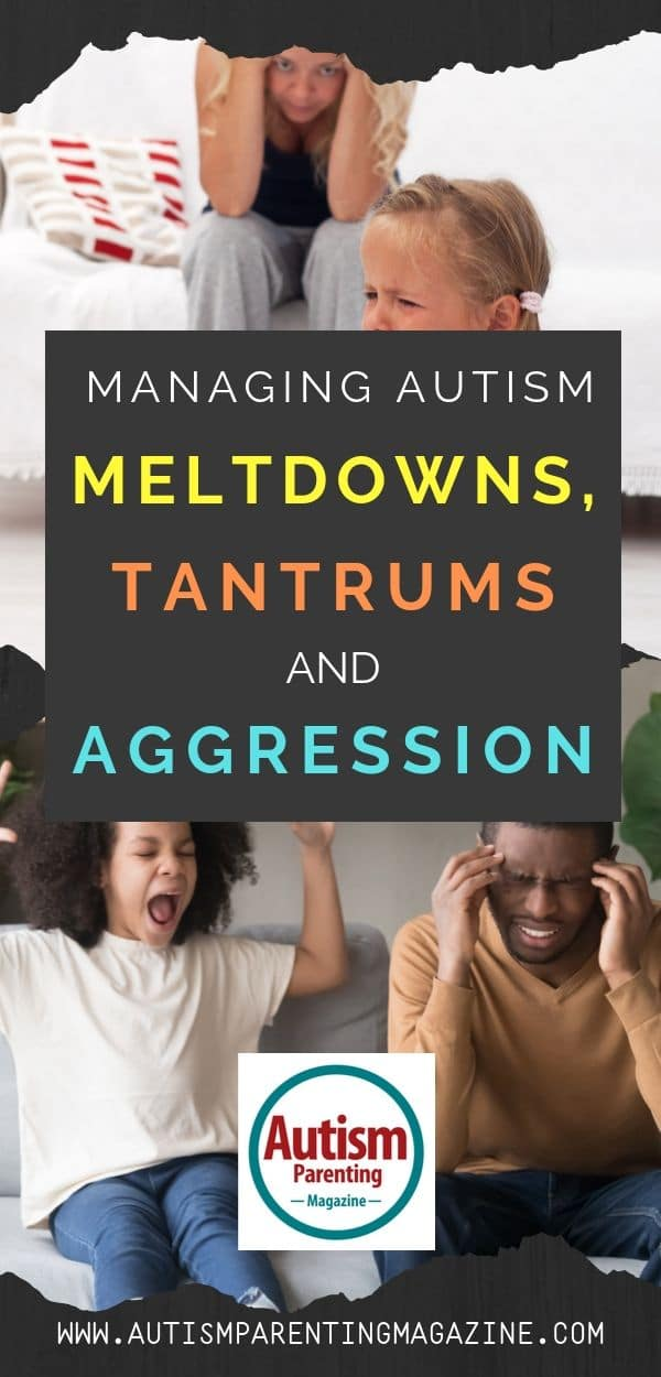 Managing Autism Meltdowns, Tantrums and Aggression