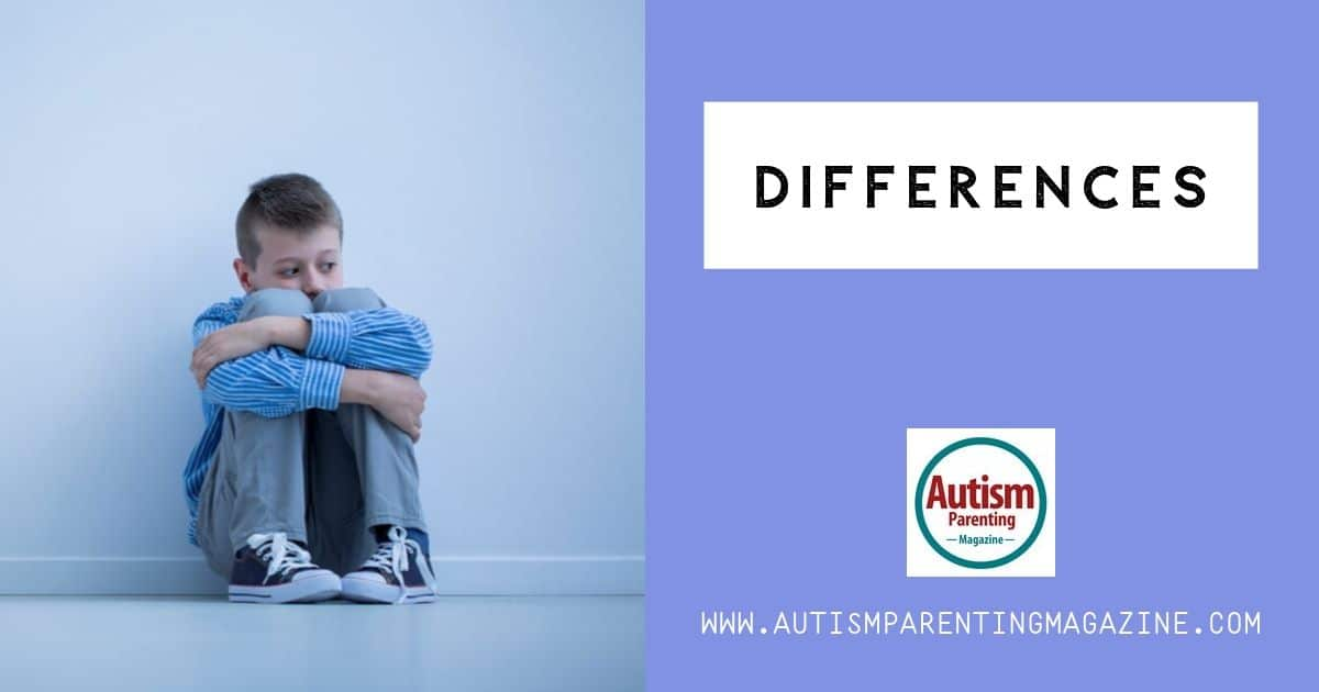 Differences https://www.autismparentingmagazine.com/deviant/