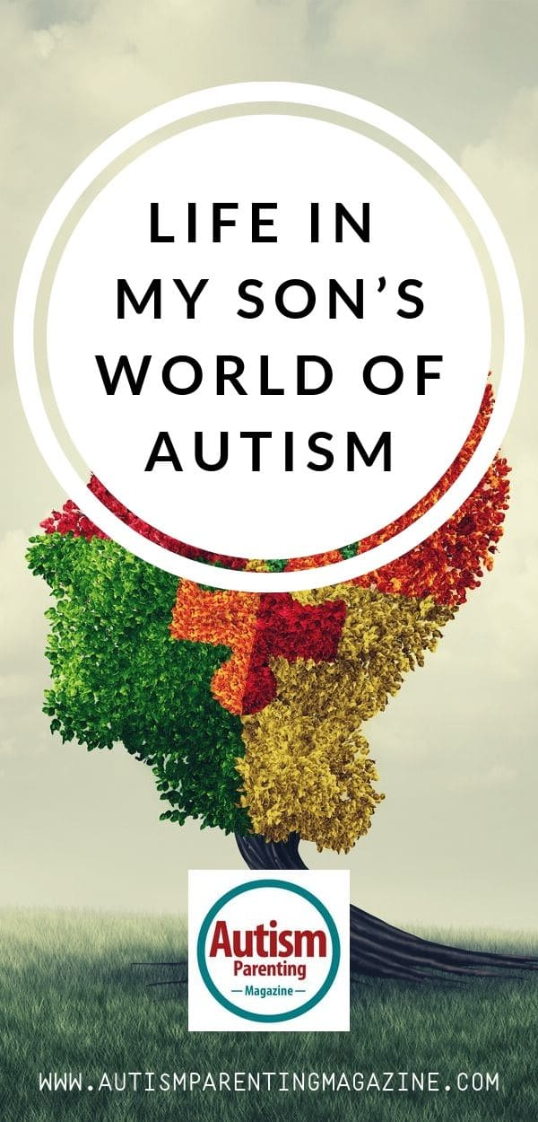Life in My Son's World of Autism https://www.autismparentingmagazine.com/life-in-sons-world-autism/