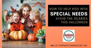How to Help Kids With Special Needs Avoid the Scaries this Halloween https://www.autismparentingmagazine.com/special-needs-avoid-scary-halloween/