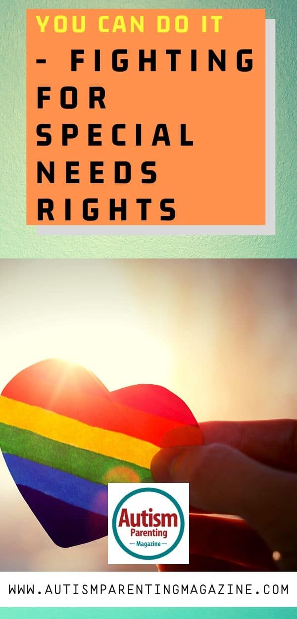 Fighting for Special Needs Rights