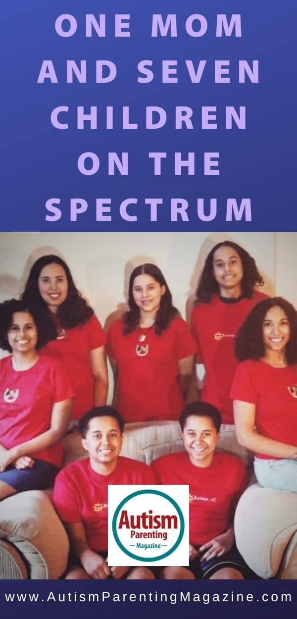 One Mom and Seven Children on the Spectrum