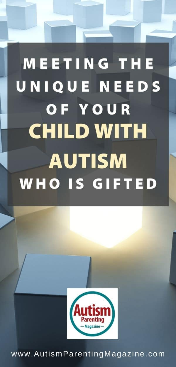 Meeting the Unique Needs of Your Child With Autism Who is Gifted