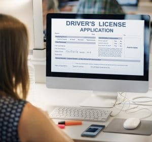 Driver's License Application