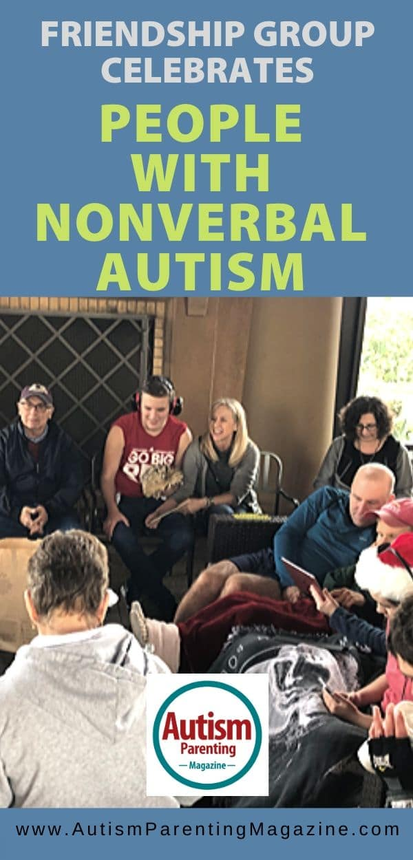 Friendship Group Celebrates People With Nonverbal Autism