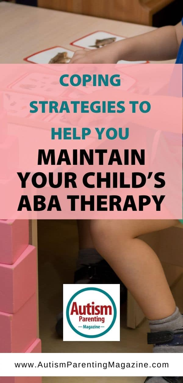 Coping Strategies to Help You Maintain Your Child's ABA Therapy