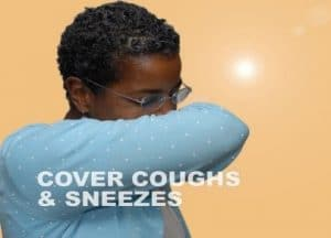 cover cough and sneezes