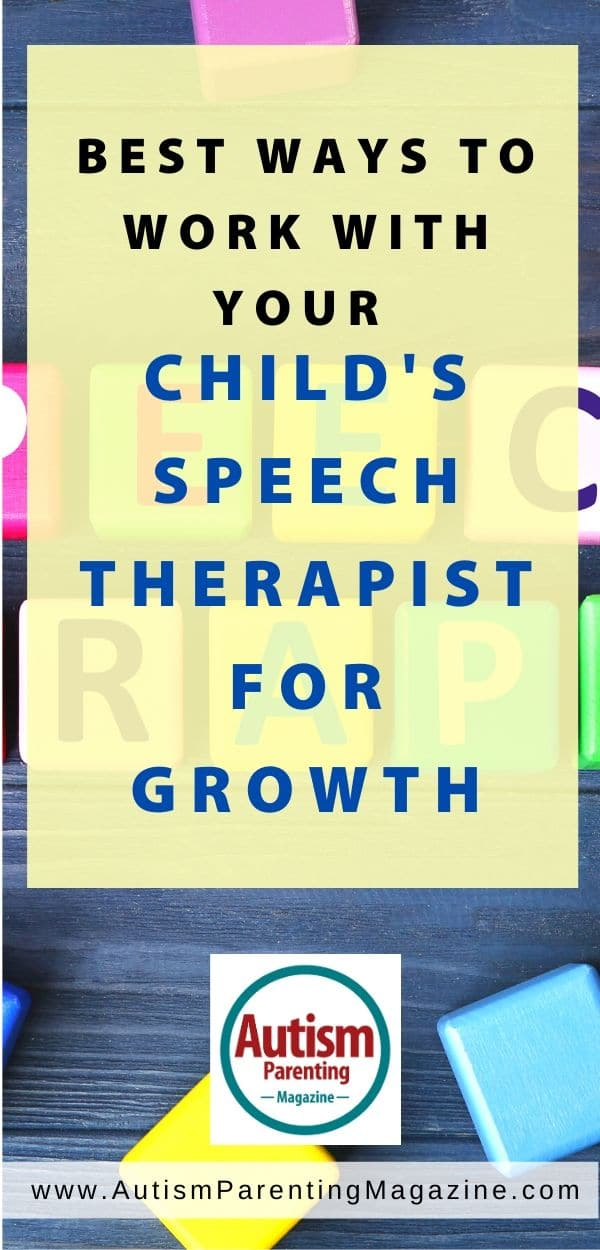 Best Ways to Work With Your Child's Speech Therapist For Growth