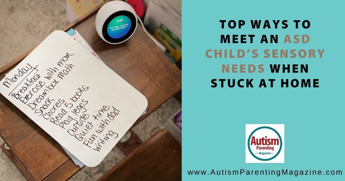 Top Ways To Meet An Asd Child S Sensory Needs When Stuck