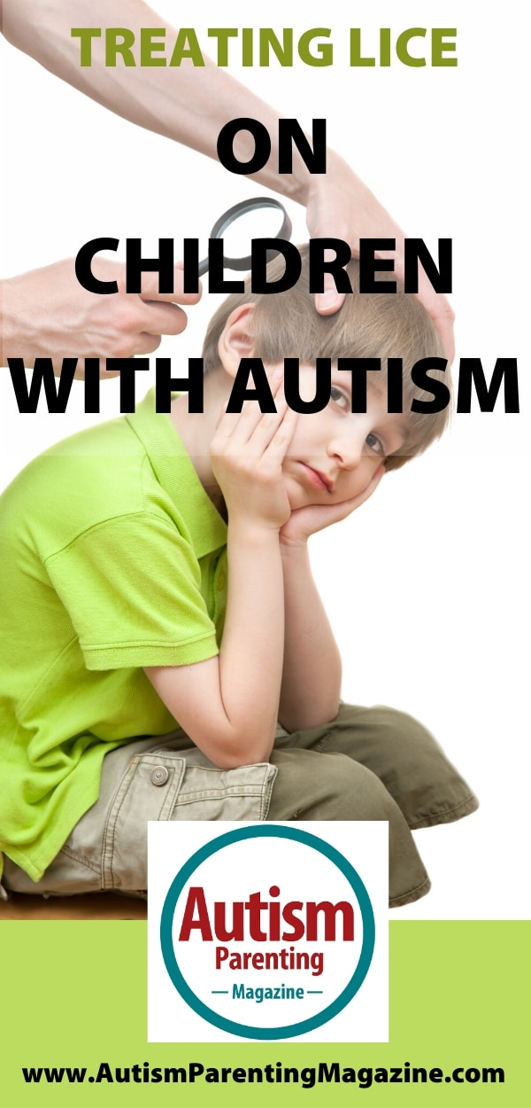 Treating Lice on Children with Autism