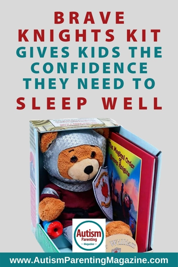 Brave Knights Kit Gives Kids the Confidence They Need to Sleep Well