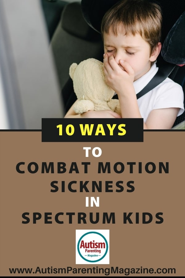 10 Ways to Combat Motion Sickness in Spectrum Kids