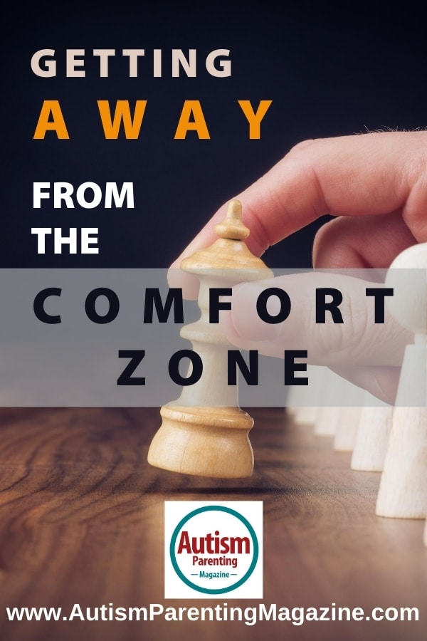 Getting Away from the Comfort Zone
