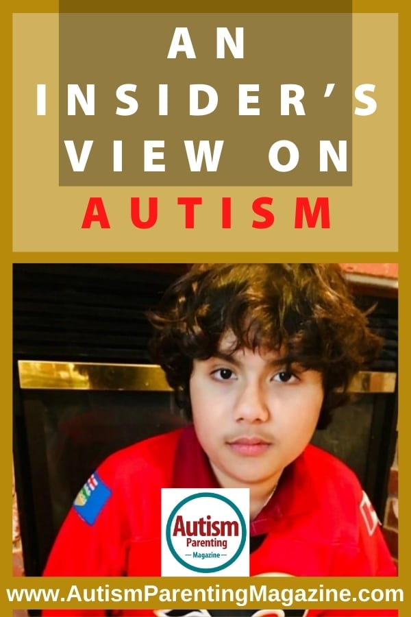 An Insider's View on Autism