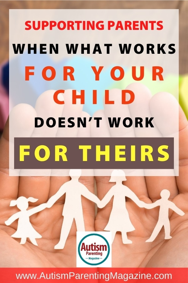 Supporting Parents: When What Works for Your Child Doesn't Work for Theirs