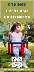 5 Things Every ASD Child Needs