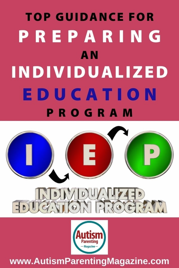 Top Guidance for Preparing an Individualized Education Program