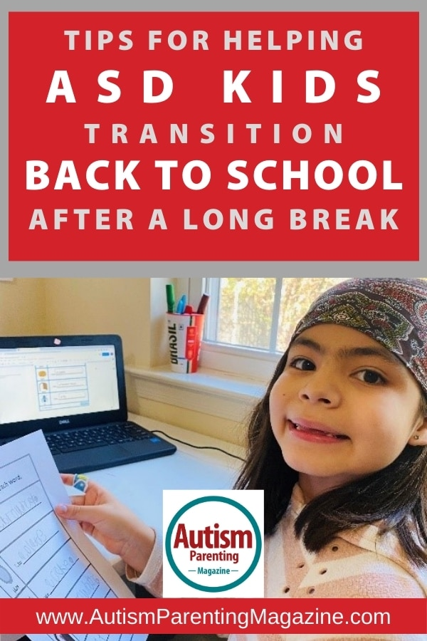 Tips for Helping ASD Kids Transition Back to School After a Long Break