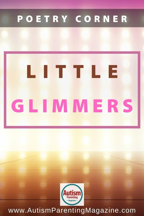 Poetry Corner: Little Glimmers