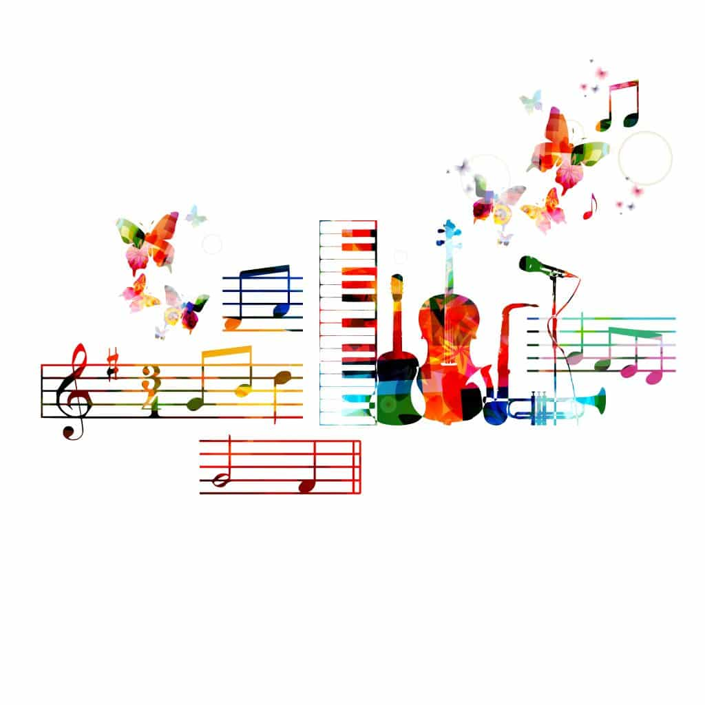 Musical Notes and Instruments
