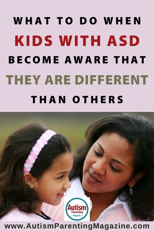 What to Do When Kids with ASD Become Aware That They Are Different Than Others
