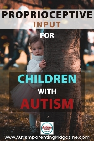 Proprioceptive Input for Children with Autism