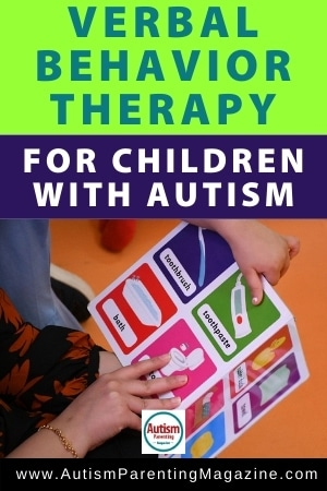 Verbal Behavior Therapy for Children with Autism