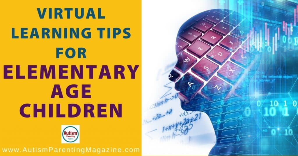 Virtual Learning Tips for Elementary Age Children